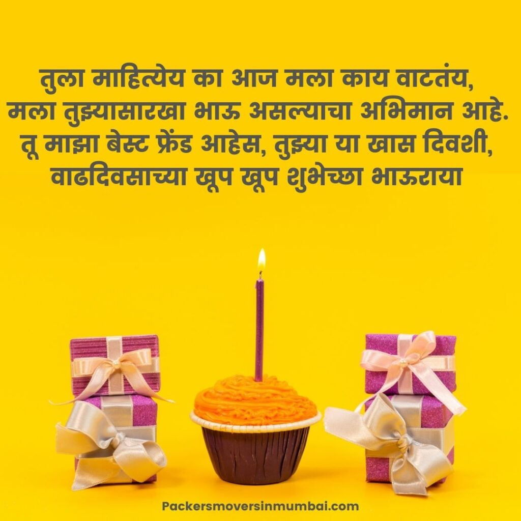 happy birthday wishes in marathi for brother